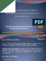 Presentacion Reglamento Ley N° 387