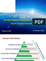 IT Juris Prudence - Presentation in Oracle IT Summit, February, 2010