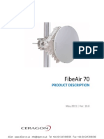 Ceragon FibeAair 70 Wireless Backhaul Solution Description