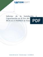 Informe Instalacion MCH en Venezuela