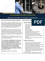 Lockdown Security Capabilities Overview