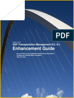 SAP TM Enhancement Guide