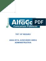 Simulado-para-Analista Judiciario Area Administrativa Trt Da 15 Regiao