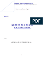 Nocoes Basicas de Arquivologia