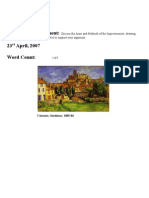 Assignment - The Impressionists