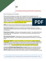 AP Student-parent Letter 13-14sy