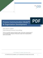 Process Communication Model (PCM)  - Organization Development