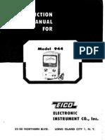 EICO 944 Manual.pdf Probador Transfor