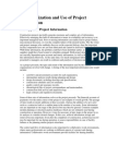 Const. Mgmt. Chp. 14 - Organization and Use of Project Information