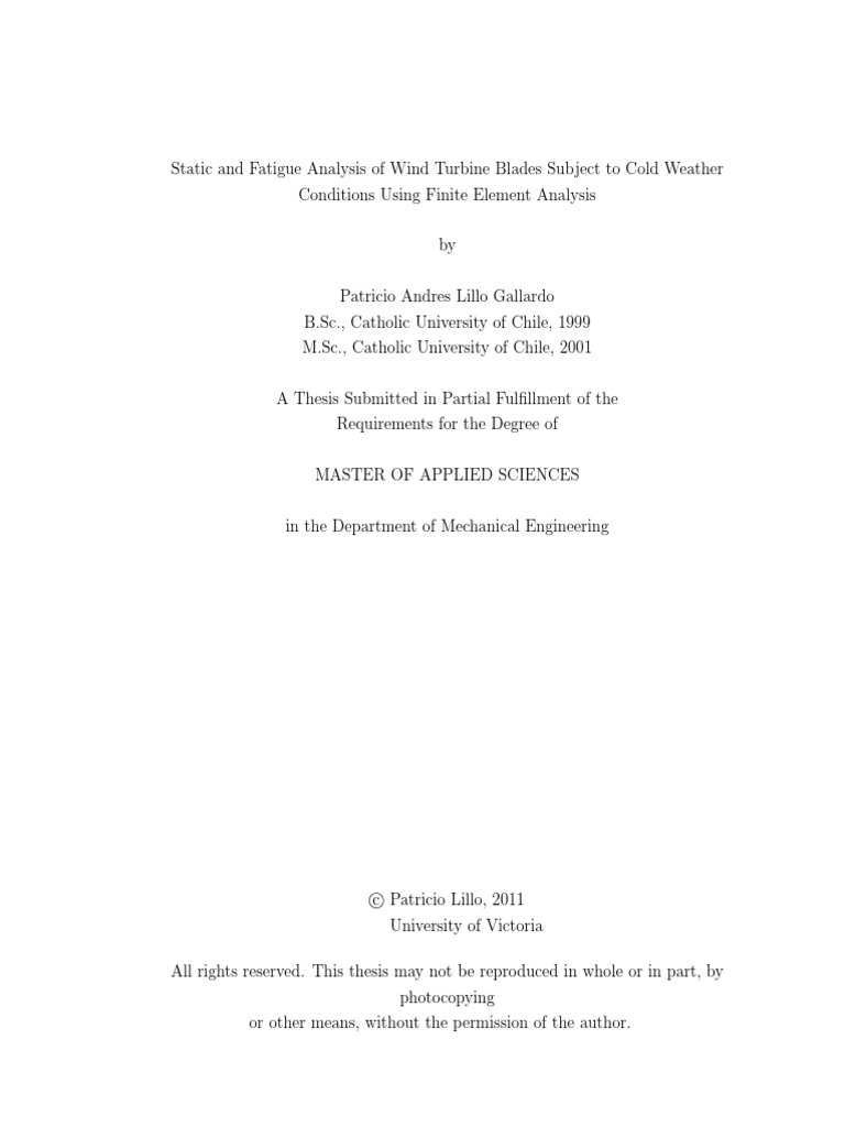 PhD Thesis Topics on Renewable Energy - PHD TOPIC
