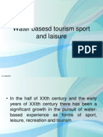 Water Based Tourism