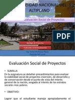 Sumilla Curso Evaluacion Social de Proyectos Una Puno