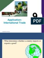 Chapter 9 - Application International Trade