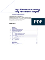 Developing Maintenance Strategy 88760d01