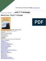 H.G. Wells - Science Fiction Society, Timişoara, România - Marcel Luca - Tactică și strategie - 2010-11-20