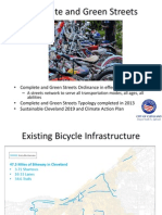 City of Cleveland Bike Facility Implementation Plan