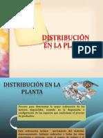 Distribuciones en Planta
