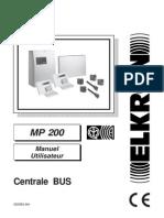Mp200 Manuel Utilisateur
