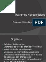 Trastornos Hematológicos - 2011