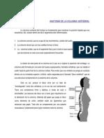 Anatomia de La Columna Vertebral