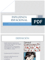 Influenza Estacional Ervin Enciso