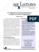 US Diplomacy Towards LATAM and Caribbean