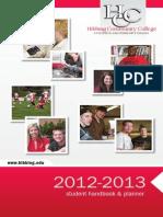 HCCStudentHandbook 2012 2013
