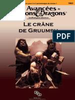 Lvl 1 DnD ADD Le-Crane-De-Gruumsh