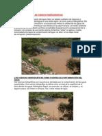 Cuencas Hidrograficas Del Grupo 1 Ok Contaminacion