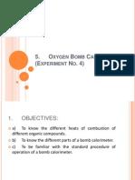 5. Oxygen Bomb Calorimeter