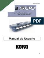 Manual Korg Pa500