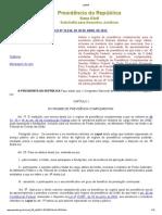 FUNPRESP Lei 12618-2012 - Institui Previdencia Complementar
