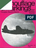 Camouflage and Markings 10 - Douglas Boston Havoc