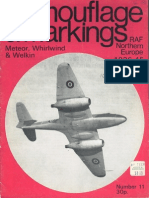 Camouflage and Markings 11 - Meteor, Whirlwind, Welkin