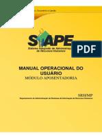 SIAPE - MÓDULO APOSENTADORIA