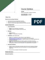 Acc 220 Course Syllabus