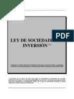 Ley_de_Sociedades_de_Inversion_(Actualizada Al 28 de Junio de 2007)