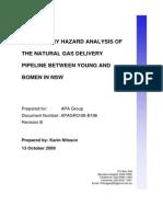 Risk Assessment Example Gaz Pipeline