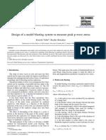 diseño de modelo tronadura para medir PPV