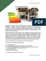 Energetski Certifikat Stambenih Zgrada