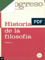 Historia de la filosofía tomo I