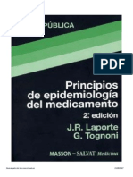 Principio Epidemiologico Del Medicamento