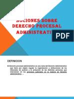 NOCIONES BÁSICAS-DEERECHO  PROCESAL-ADMINISTRATIVO