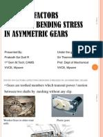 Assymetric Gears