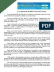 jan25.2014_bSolon seeks probe on genetically modified crops in the country