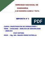 59074044 Teoria de Dualidad y Analisis de Sensibilidad