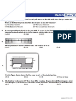 NSTSE Sample Paper Class 6