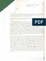 Robert Word Letter