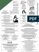 St Felix Catholic Parish Newsletter - 26th Week in Ordinary Time 2009