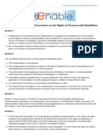 Optional Protocol to the Convention on the Rights of Persons With Disabilities